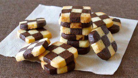 bánh cờ vua, kẹo cờ vua, thạch cờ vua, bàn cờ vua, bánh quy
