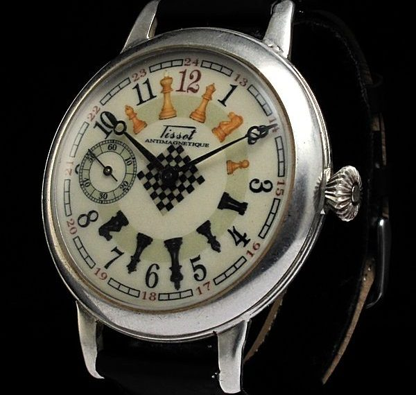 quà tặng cờ vua, đồng hồ cờ vua