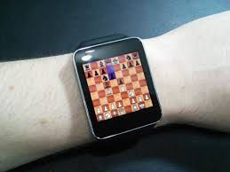 quà tặng cờ vua, smartwatch, đồng hồ cờ vua