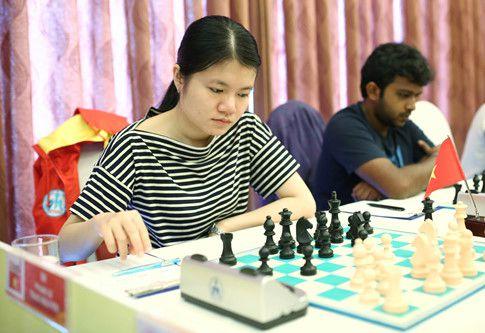 Kỳ Thủ Thảo Nguyên trong giải cờ nhanh cờ chớp thế giới