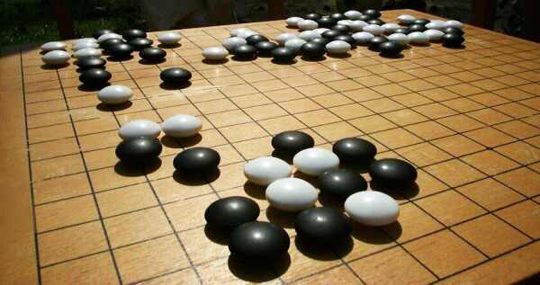 Cách chơi cờ vây