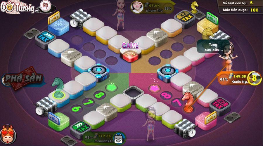 Game cờ cá ngựa online Zingplay