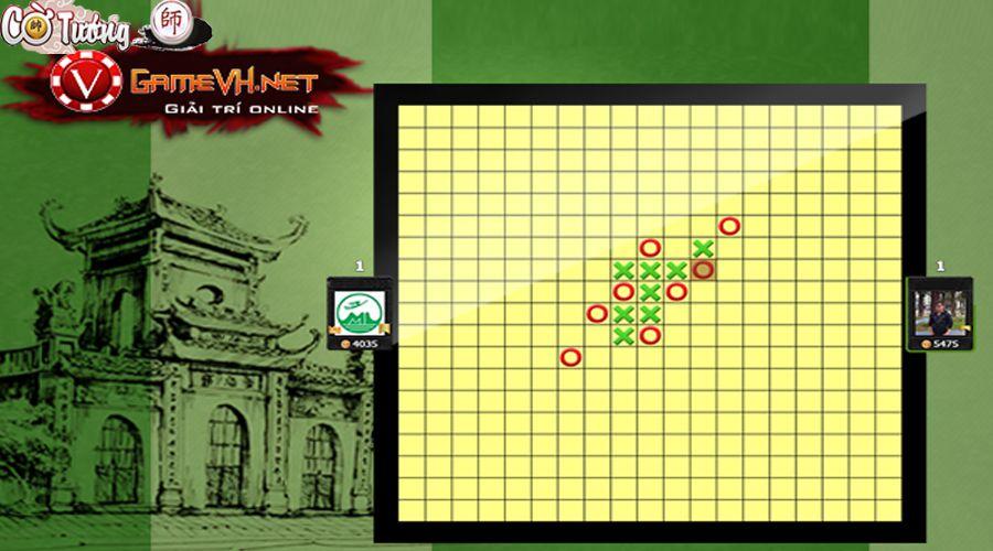Game cờ ca rô online Gamevh