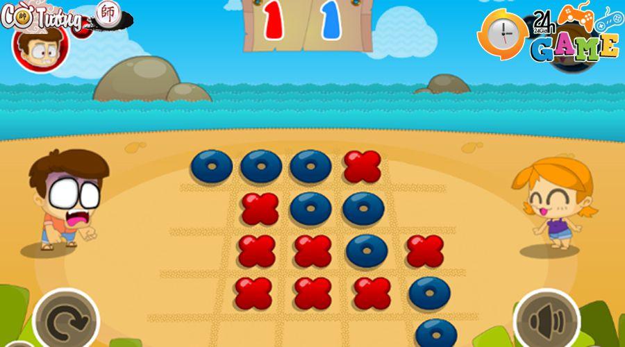 Game cờ caro online Game24h